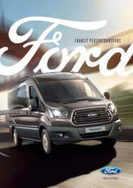 New Ford Transit buss