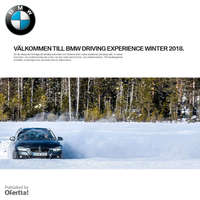 BMW driving experince winter 2018