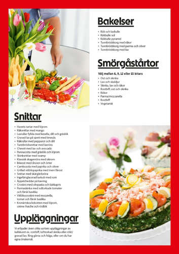 Catering & tårtor- Page 1