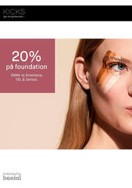 20% på foundation