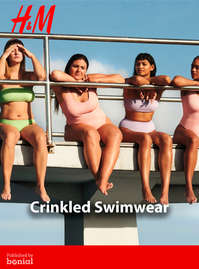 Crinkled Swimwear