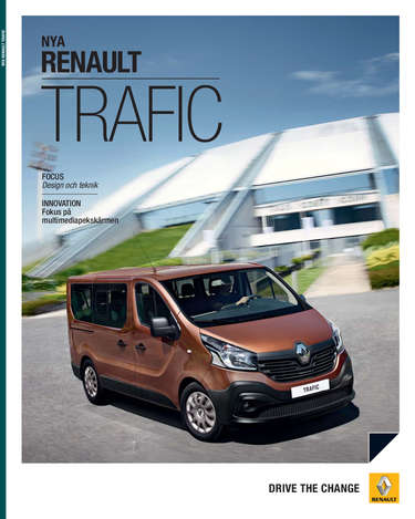 Renault Trafic- Page 1